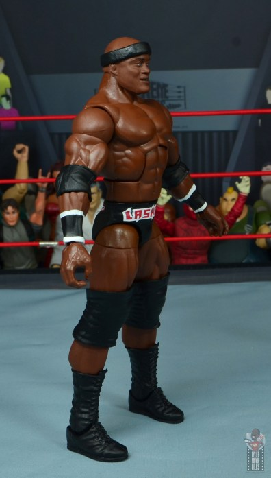 wwe elite 69 bobby lashley figure review -right side