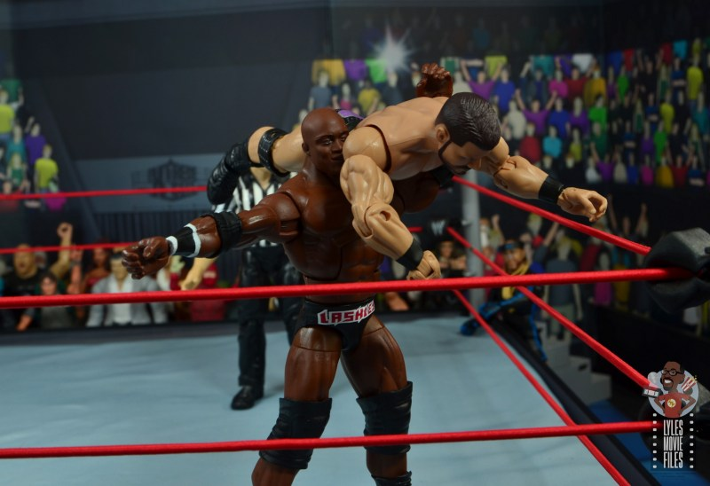 wwe elite 69 bobby lashley figure review - snake eyes to bobby roode