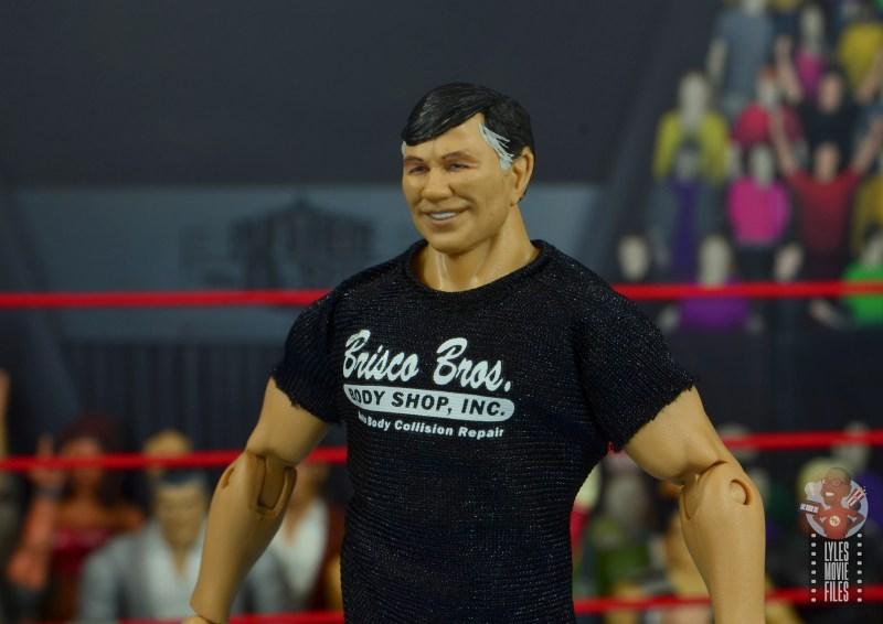 wwe elite gerald brisco figure review -close up