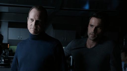 agents of shield - ragtag review -garrett and ward