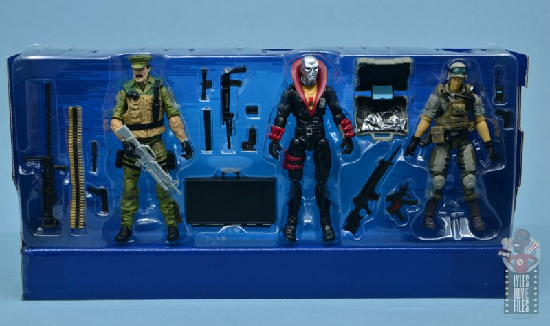 gi joe the eagle's edge figure review set - figures with accessories