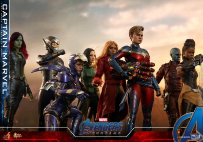 hot toys avengers endgame captain marvel -a-force