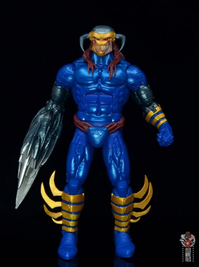 marvel legends death head ii figure review - front side