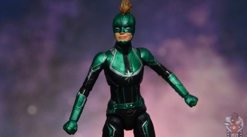 marvel legends starforce captain marvel figure review - main pic