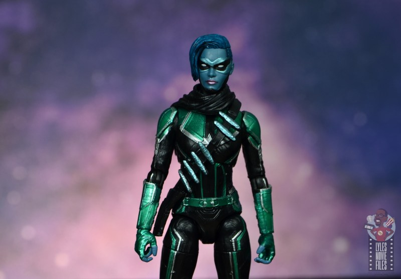 marvel legends starforce captain marvel figure review - minn-erva main pic