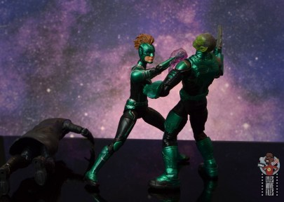 marvel legends talos figure review - captain marvel stops him