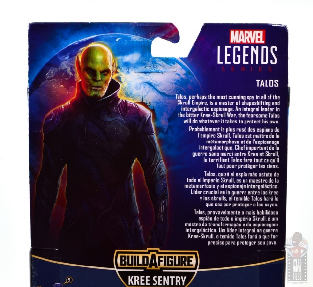 marvel legends talos figure review - package bio