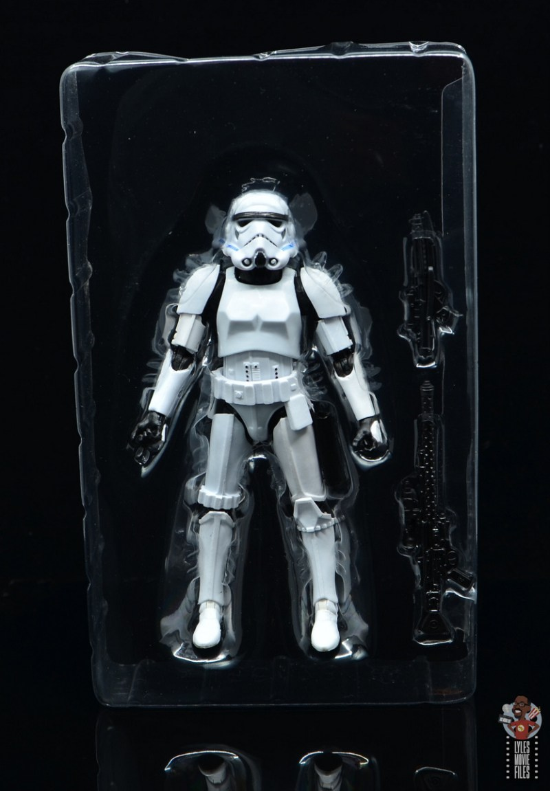 star wars the black series stormtrooper figure review - in tray
