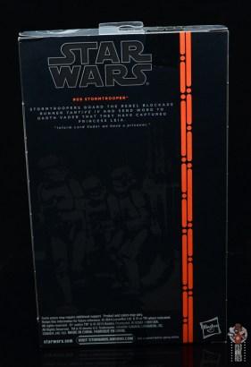 star wars the black series stormtrooper figure review - package rear