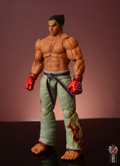 storm collectibles tekken 7 kazuya figure review - left side