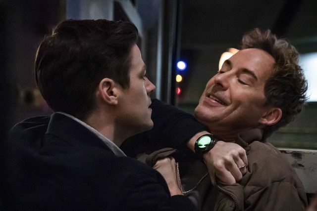 the flash - the exorcism of nash wells review - barry and thawne