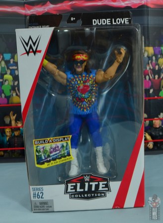 wwe elite #62 dude love figure review - front package