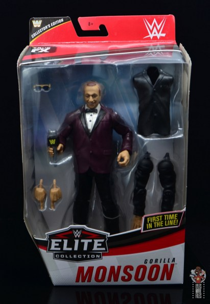 wwe elite 72 gorilla monsoon figure review - package front