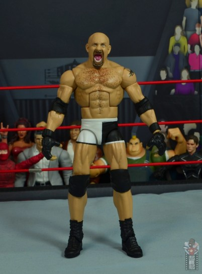 wwe elite #74 goldberg figure review - front