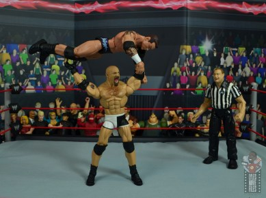 wwe elite #74 goldberg figure review - press slamming randy orton