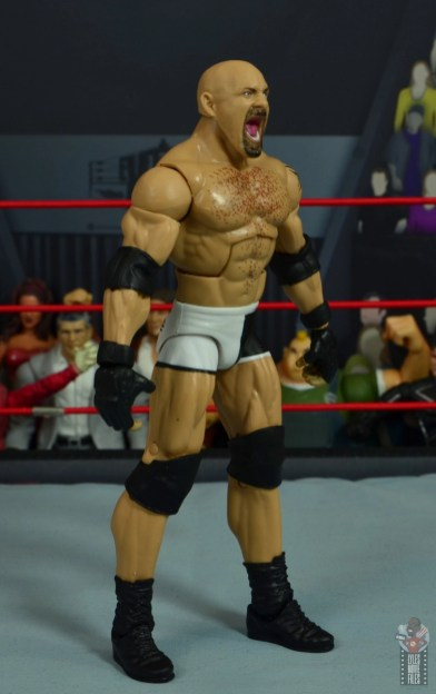 wwe elite #74 goldberg figure review - right side