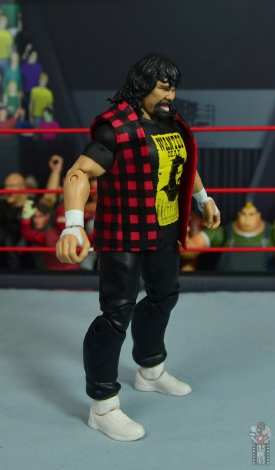 wwe wrestlemania 34 elite mick foley figure review - right side