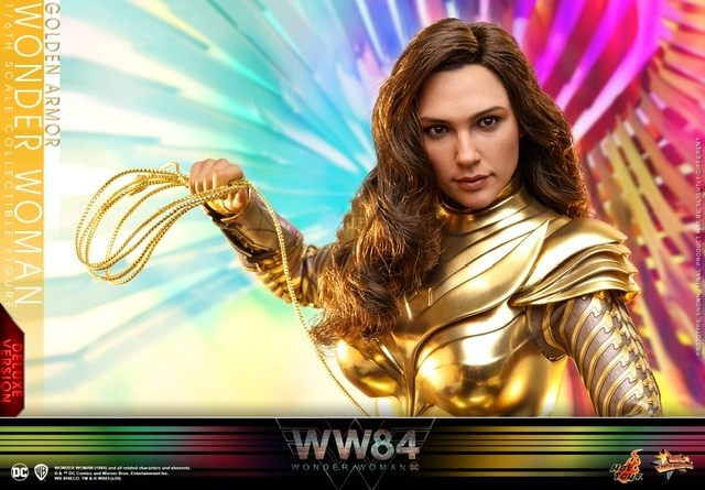 hot Toys Wonder Woman 1984 golden armor figure -main pic