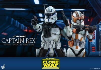 Hot Toys Star Wars clone wars figure -With cody