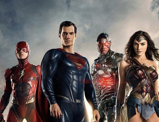 justice league - Flash, Superman, Wonder Woman and Aquaman