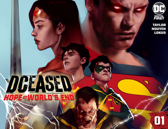 DCEASED HOPE AT WORLDS END CHAPTER ONE Cv1