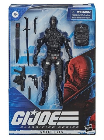 G.I. Joe Classified Series 6-Inch Snake Eyes Action Figure - package