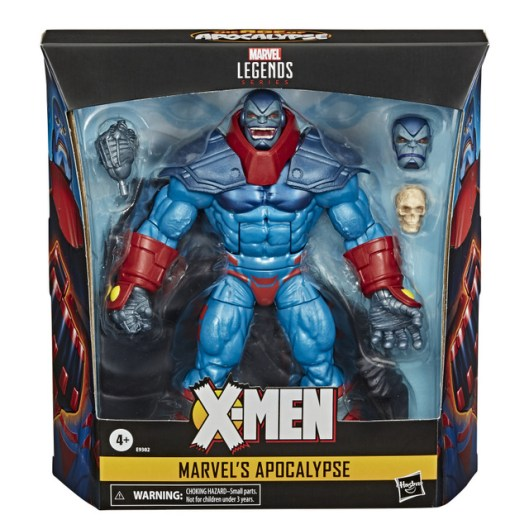 MARVEL LEGENDS SERIES 6-INCH DELUXE MARVEL'S APOCALYPSE Figure - in pck (1)
