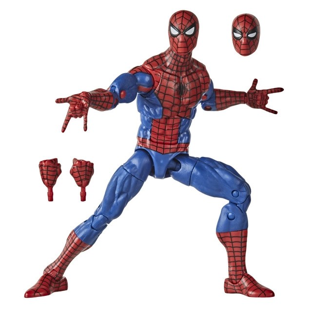 MARVEL LEGENDS SERIES 6-INCH SPIDER-MAN RETRO COLLECTION Figure - oop