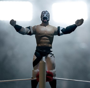 New Japan Pro-Wrestling Ultimate - Bushi (Pre-Order) – Super7preorder - in ring