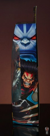 marvel legends age of apocalypse weapon x figure review package side