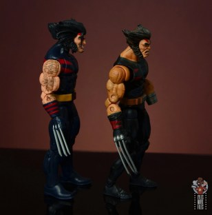 marvel legends age of apocalypse weapon x figure review - right side weapon x
