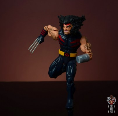 marvel legends age of apocalypse weapon x figure review - running