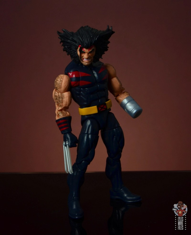 marvel legends age of apocalypse weapon x figure review - standing