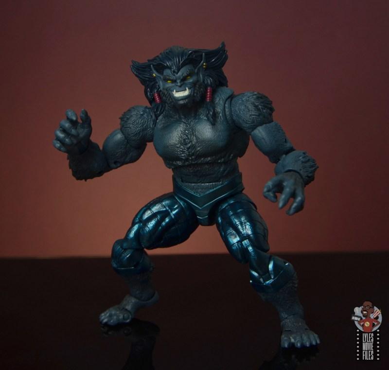 marvel legends dark beast figure review - battle ready