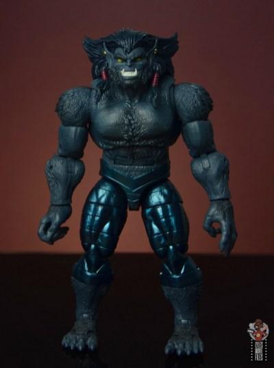 marvel legends dark beast figure review - front