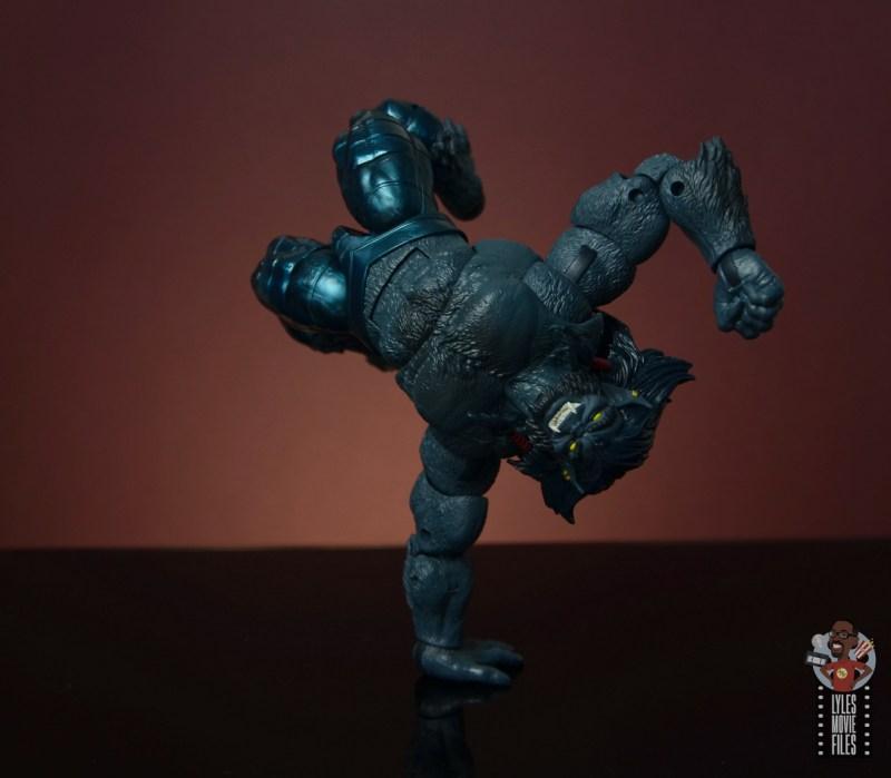 marvel legends dark beast figure review - handstand
