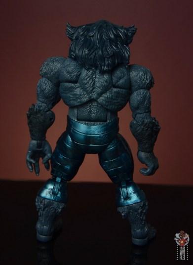 marvel legends dark beast figure review - rear