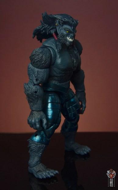 marvel legends dark beast figure review - right side