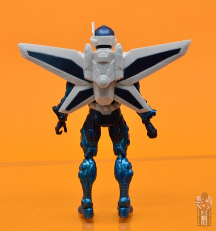 marvel legends mach-1 figure review - rear