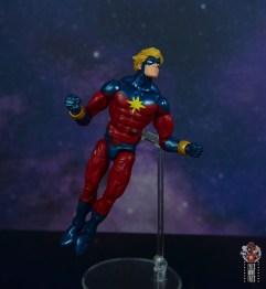 marvel legends mar-vell figure review -flying up