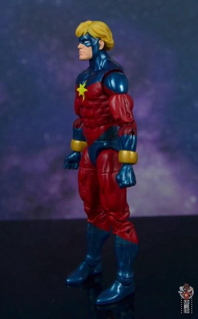 marvel legends mar-vell figure review - left side