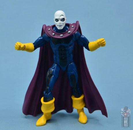 marvel legends morph figure review - arms wide