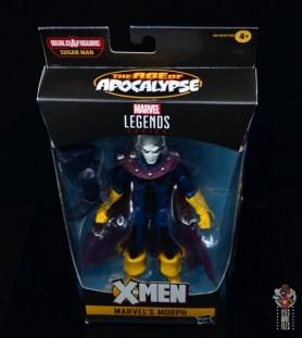 marvel legends morph figure review - package top