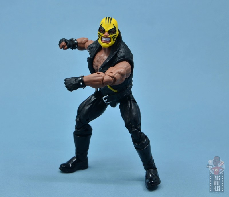 marvel legends rage figure review - pivoting