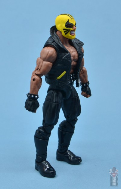 marvel legends rage figure review - right side