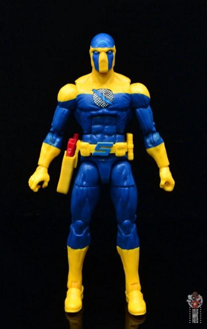 marvel legends spymaster figure review - front