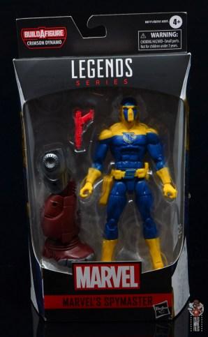 marvel legends spymaster figure review - package front
