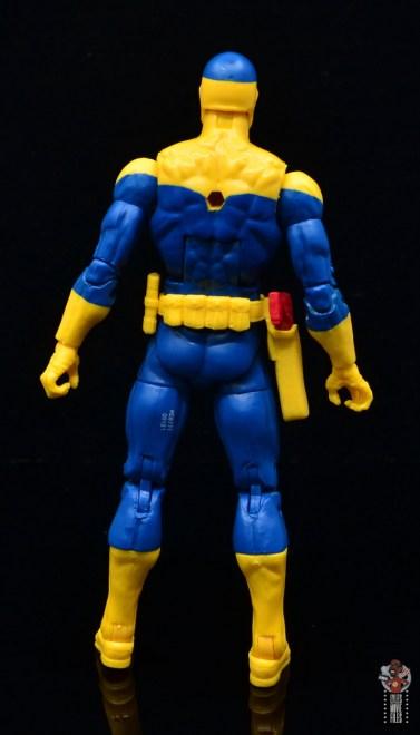 marvel legends spymaster figure review - rear