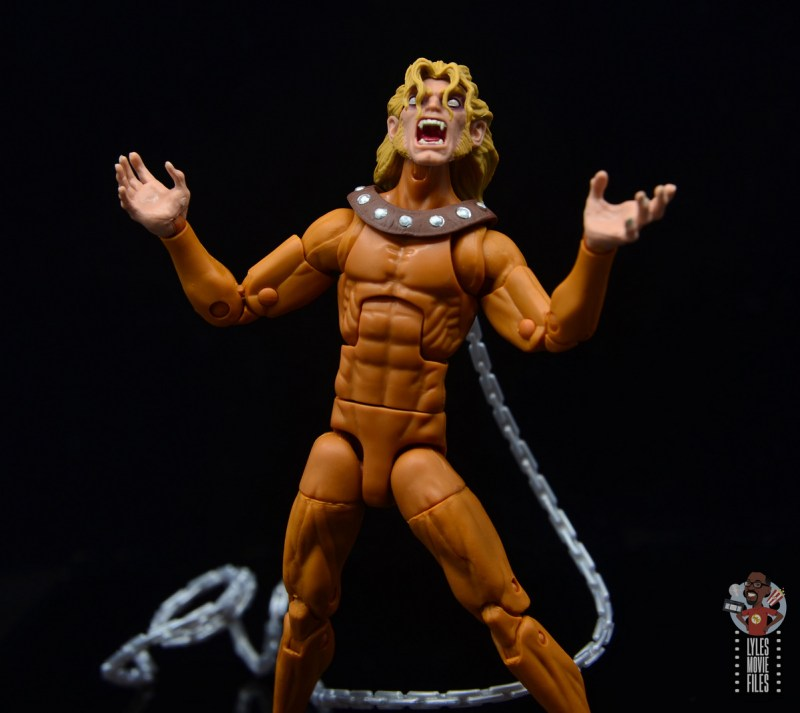marvel legends wild child figure review - howling