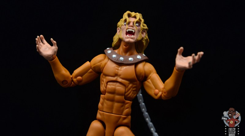 marvel legends wild child figure review - main pic